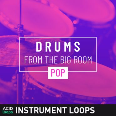 Drums from the Big Room - Pop