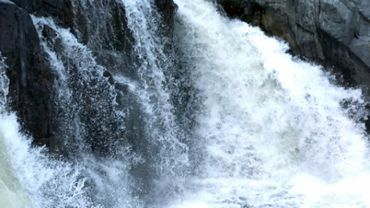 Crashing Whitewater Waterfall