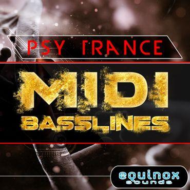 Psy Trance MIDI Basslines