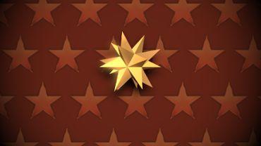 HD Christmas star loop