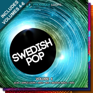 Swedish Pop Bundle (Vols 4-6)