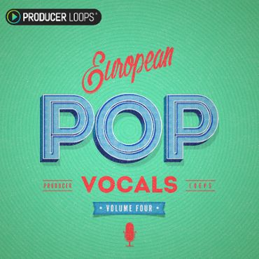 European Pop Vocals Vol 4