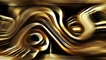 Silky golden lines