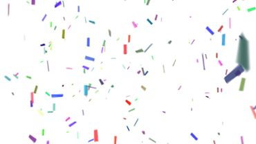 Confetti With Alpha