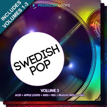 Swedish Pop Bundle (Vols 1-3)