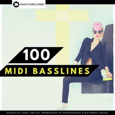 100 MIDI Basslines
