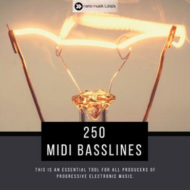 250 MIDI Basslines