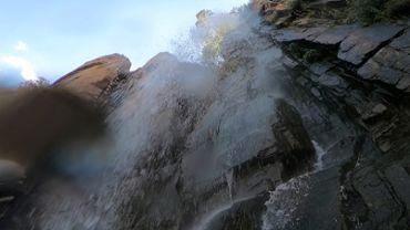 Near Waterfall