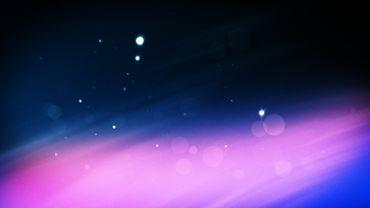 Xmas particles intro