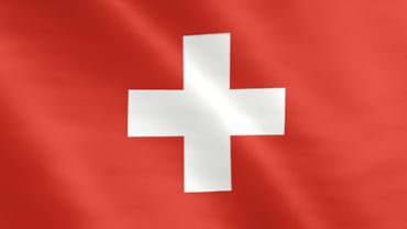 Animated flag of Switzerland