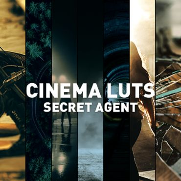 Cinema LUTs Secret Agent