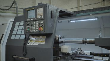 Industrial cutter and its control panel