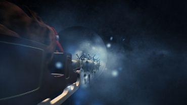 Rentiere im Weltall