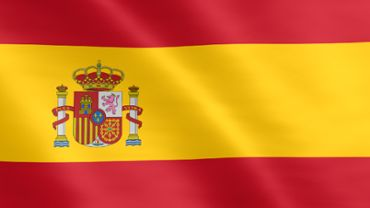 Animated flag of Spain