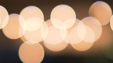 Circles of light with bokeh effect 2