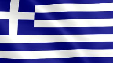 Animated flag of Greece