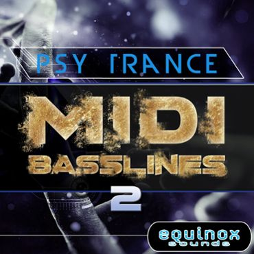 Psy Trance MIDI Basslines 2