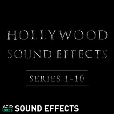 Hollywood Sound Effects Series Vol. 1 - 10