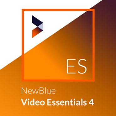 NewBlue Video Essentials 4