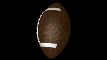 Rotating American Football