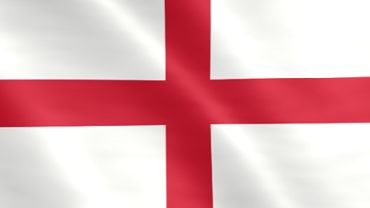 Animated flag of England
