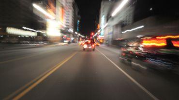 Car Driving Timelapse