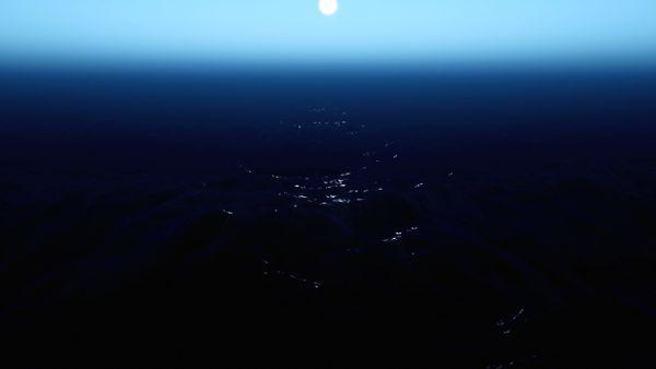 Stary Night Sea
