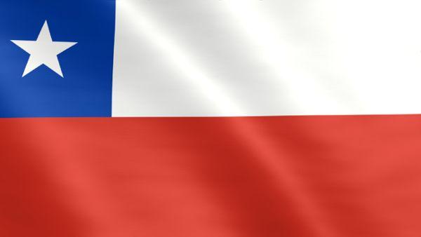 Animierte Flagge von Chile
