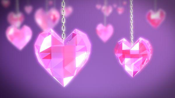 Chain hearts