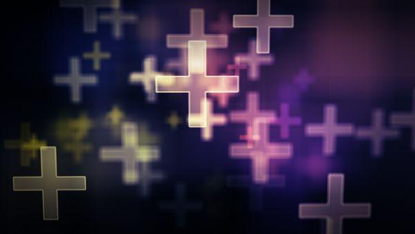 Polychromatische Kreuze Loop