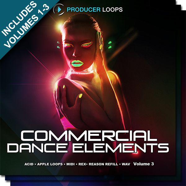 Commercial Dance Elements Bundle (Vols 1-3)