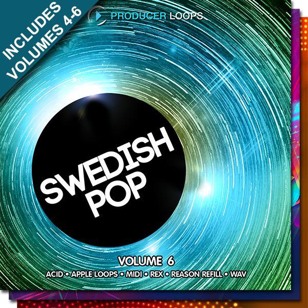 Swedish Pop Bundle (Vols 4-6)