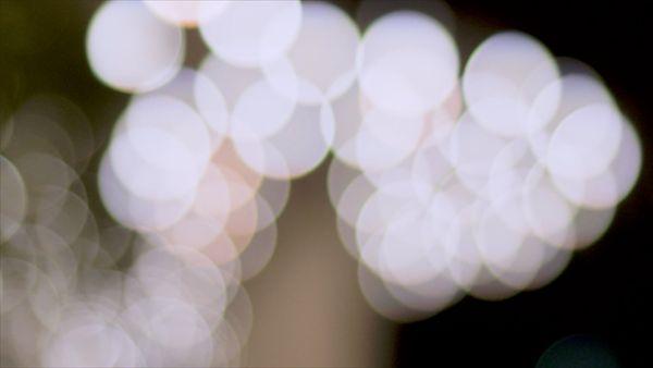 Round white lights
