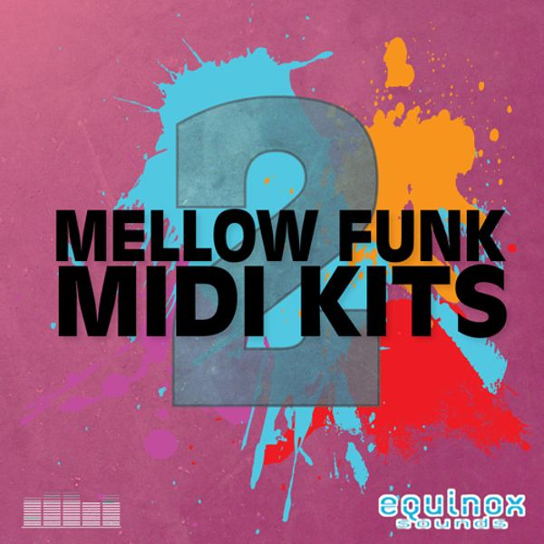 Mellow Funk MIDI Kits 2