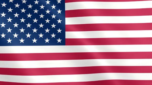 Animierte Flagge der Vereinigten Staaten von Amerika