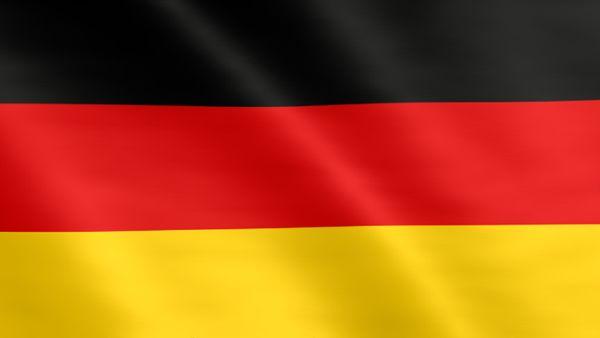 Animierte Flagge von Deutschland