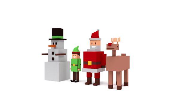 Christmas Box Characters