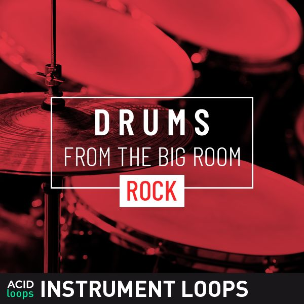 Drums from the Big Room - Rock