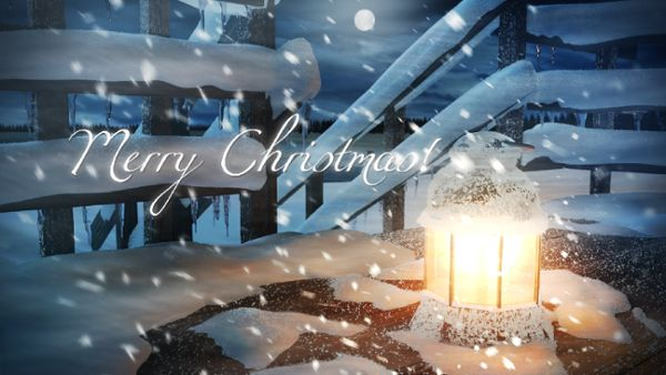 Xmas lantern intro - Merry Christmas