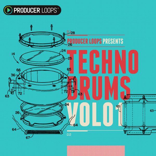 Techno Drums Vol 1