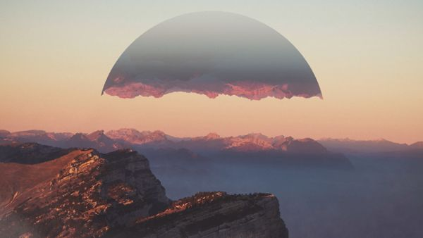 Futuristic Landscape Animation