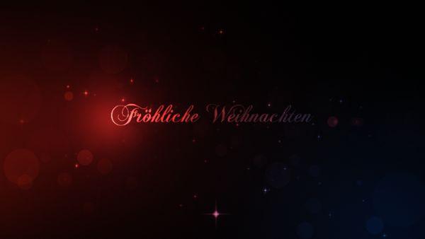 Xmas Funken intro - Fröhliche Weihnachten