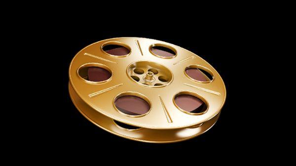 Spinning Film Reel 3