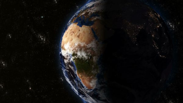 Planet Earth - Sunrise 01