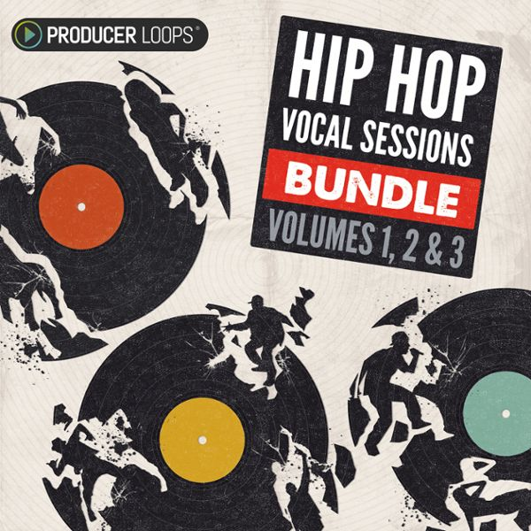 Hip Hop Vocal Sessions Bundle (Vols 1-3)