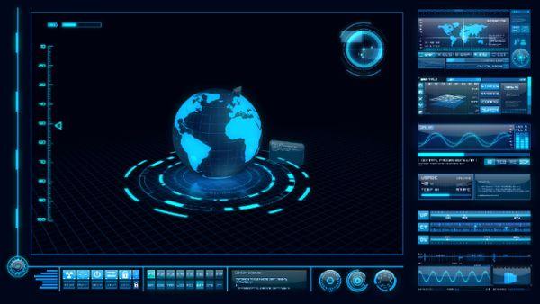 High-Tech Interface