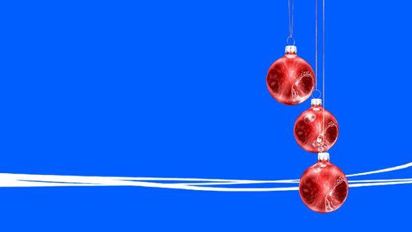 Weihnachtskugeln Bauchbinde