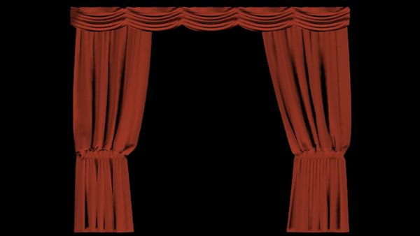 Closing Curtain Transition