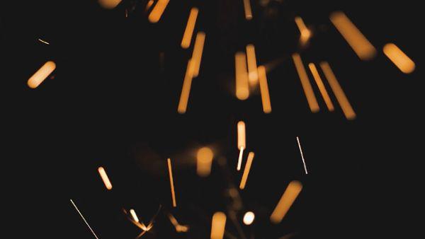 Gold Sparklers