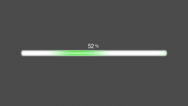 Green Progress Bar